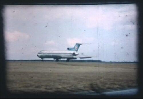 昭和47年 ジェット機初就航(仙台空港) 宮城県岩沼市