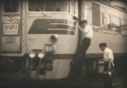 昭和30年代 仙台駅(ひばり、SL機関車) 宮城県仙台市青葉区