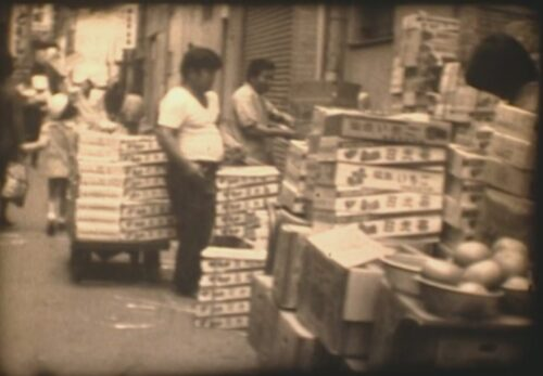 昭和40年代後半 街中の八百屋さん 宮城県仙台市青葉区