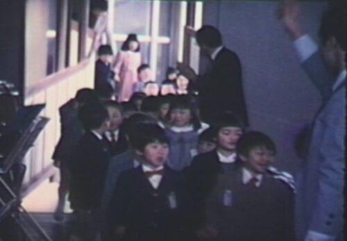 昭和59年 仙台市立向山小学校入学式 宮城県仙台市太白区