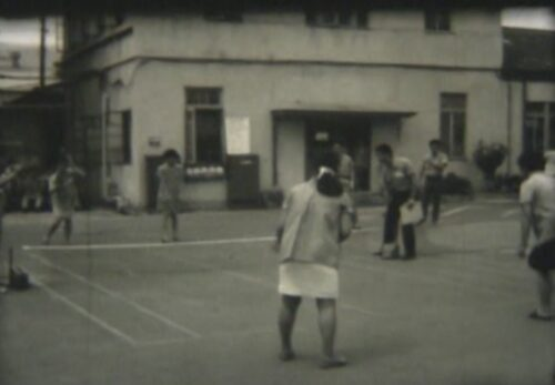 昭和45年 社内フリーテニス大会 宮城県仙台市