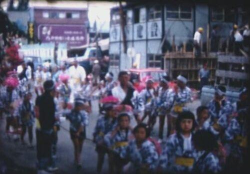 昭和43年8月 八戸祭り 青森県八戸市